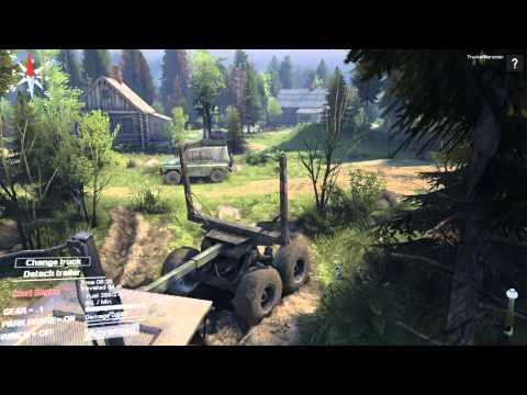 SPINTIRES - Coast Map Episode 1: Removing Some Cloak