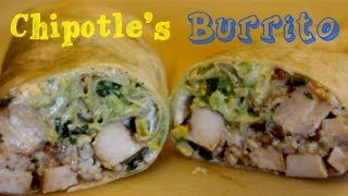 Chipotle's Burrito - How To Make Every Part and Cilantro Lime Rice - Finale!