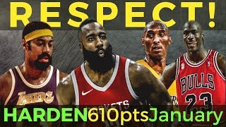 RECORD BREAKING! James Harden PUMANGALAWA kay Jerry West at Wilt Chambelain