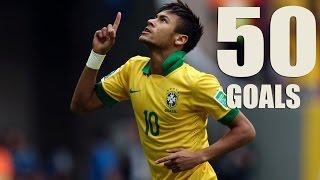 Neymar Jr ● All 50 Goals for Brazil ● 2010-2016 || Все 50 голов Неймара за Бразилию