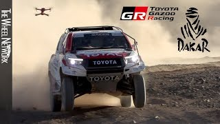 TOYOTA GAZOO Racing Dakar Rally Team – Namibia Testing with Fernando Alonso