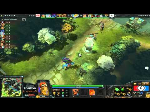 LGD.INT vs Invictus Gaming Game 1 - G League DOTA2 Finals - TobiWan