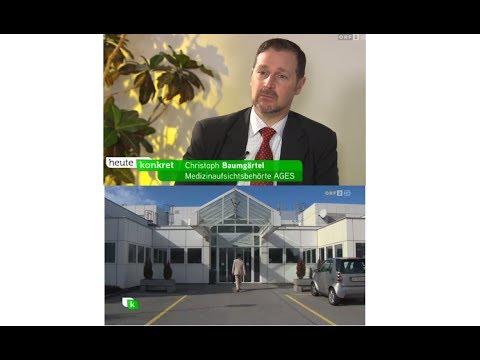 Pharmakogenetische Gentests für mehr Arzneimittelsicherheit, Christoph Baumgärtel, ORF Heute Konkret