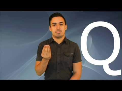 Vocabulario Básico 1 - Abecedario Lengua de Señas Colombiana LSC