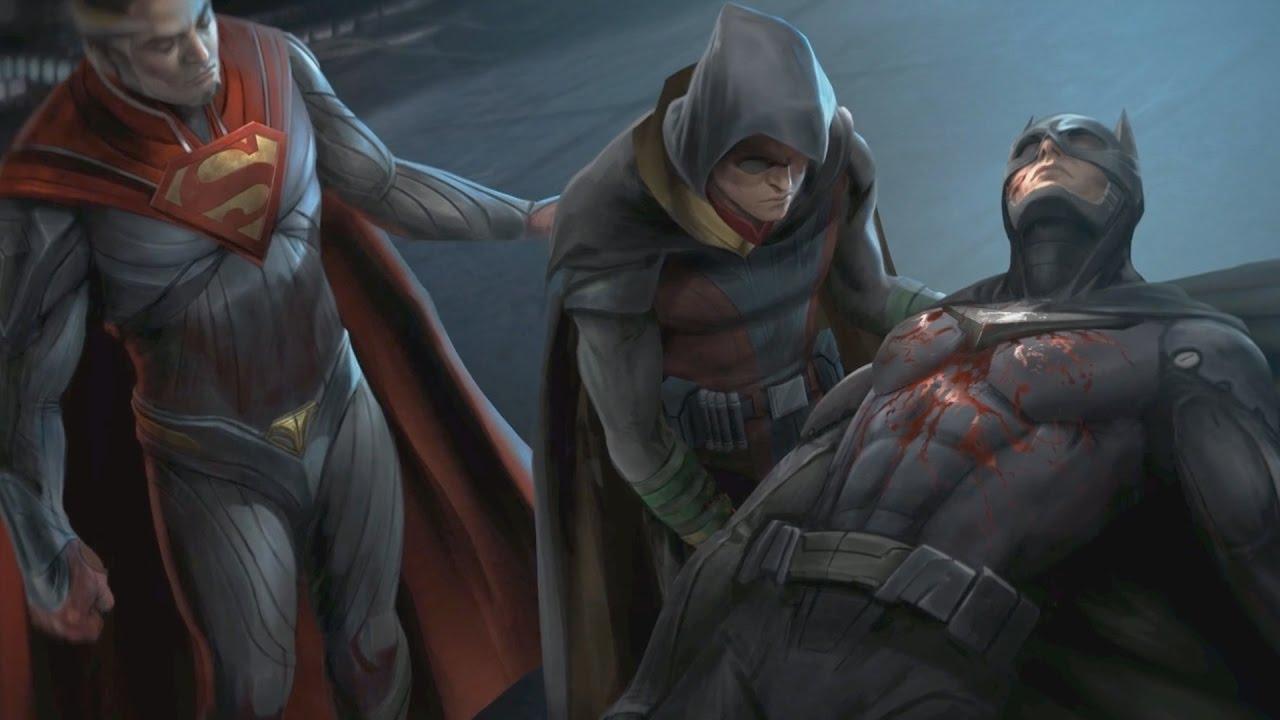 Injustice 2 alle charaktere