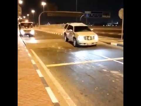 مطب واحد أعدم سيارات الرياض video