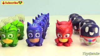 PJ Masks Super Moon Adventure Mashems Series 3 Learn Colors