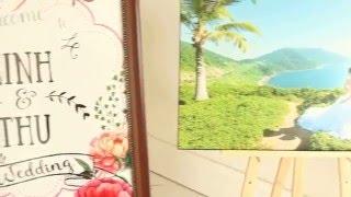Bàn Wedding Gallery ở nhà hàng Adora Phú Mỹ Hưng