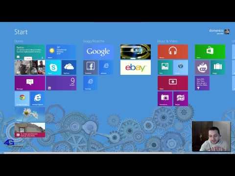 Windows 8 PRO ITA Review  part.1 by 4Gsmart
