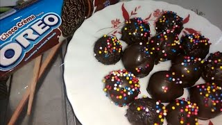 Oreo Cake Balls Recipe without Cream Cheese   Cake Balls from Leftover Cake   Cake Balls Decoration
