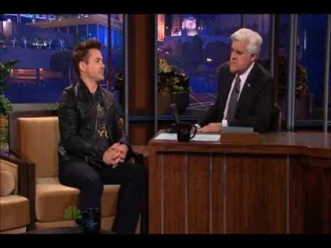 Robert Downey Jr @ Tonight Show with Jay Leno 04/26/2013