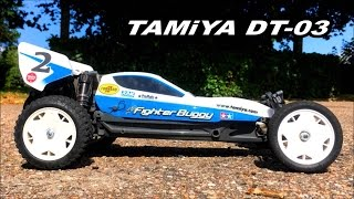 Tamiya DT-03 Neo Fighter Buggy: On Road Run - Testing the Carson All Terrain Rear Tires
