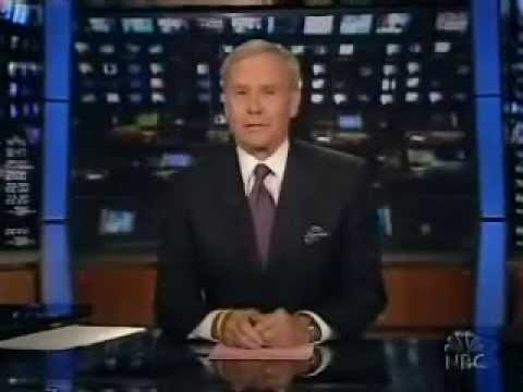 Tom Brokaw Says Farewell to NBC Nightly News