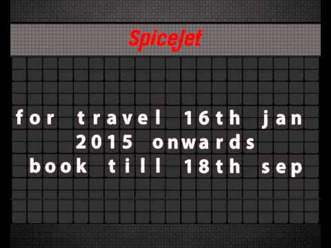 SpiceJet Early New Year Sale!
