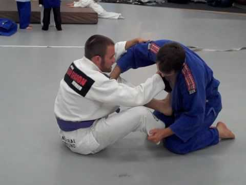 Jiu Jitsu Technique - Spinning Circle Choke - BJJ Move Part 2/2 Image 1