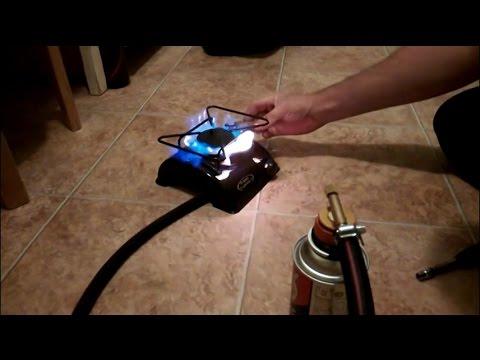 Газовая плита портативная своими руками 2