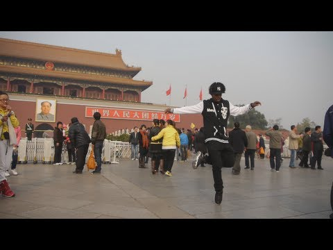 Lil Buck Goes to China