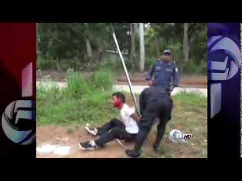 Enardecidos vecinos linchan a un ladrón en La Ceiba