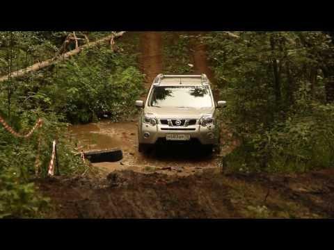 Nissan x-trail, тест драйв