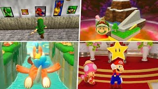 Evolution of Super Mario 64 References in Nintendo Games (1996 - 2019)