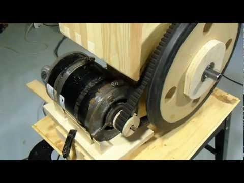 Motorizing the bandsaw