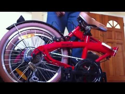 Citizen Folding Bike: Miami (First impressions)