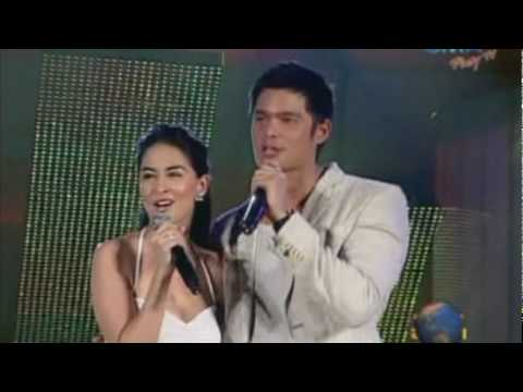 Marian Rivera & Dingdong Dantes on Stage