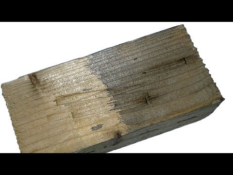 Старье?! Как состарить древисину (простой рецепт браширования)