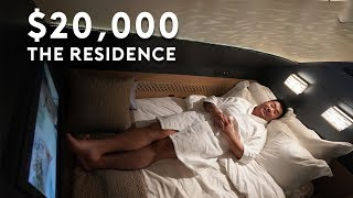 The 20,000 Residence on Etihad A380