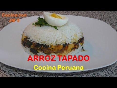 ARROZ TAPADO - RECETAS - COCINA PERUANA