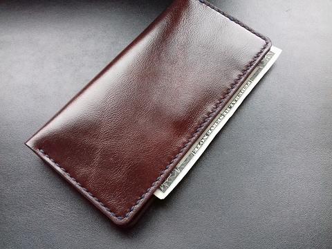 Кожаное портмоне своими руками 002