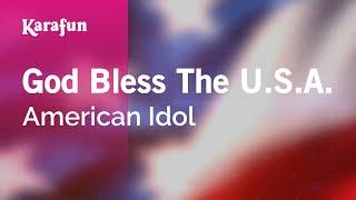 Karaoke Idols God Bless The U S A Karaoke Version