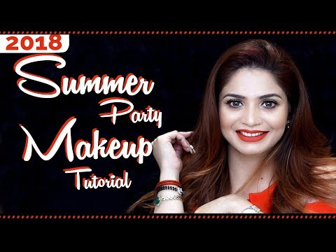 Summer Party Makeup Tutorial | Step By Step Glam Makeup Tutorial | Makeup Hacks | Krushhh By Konica