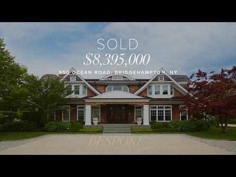 Hamptons real estate 950 ocean road bridgehampton ny for Hamptons luxury real estate
