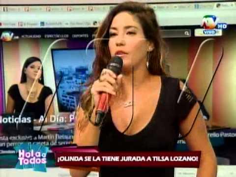 Tilsa Lozano le responde a Olinda Castañeda