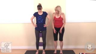 Structural Alignment Yoga Therapy - Shins In Thighs Out in Squat Pose
