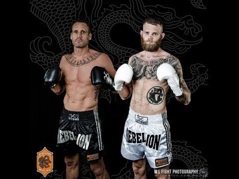 Rebellion Muaythai 8: Chris Bradford vs Steve Behan - FULL FIGHT