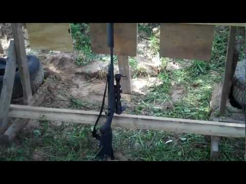 AAC Handi-Rifle 300 Blackout with Silencerco Osprey45 silencer