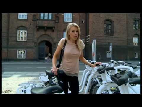 BBC News testing Gobike Bike Share in Copenhagen