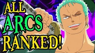 Every Arc in One Piece Ranked (Part 1)
