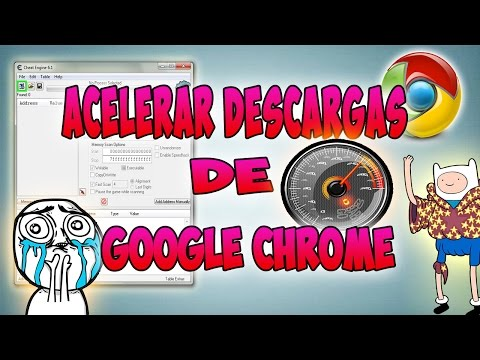Acelerar Descargas De Google Chrome || Cheat Engine 6.1 ||  2014 || Crodwe ||