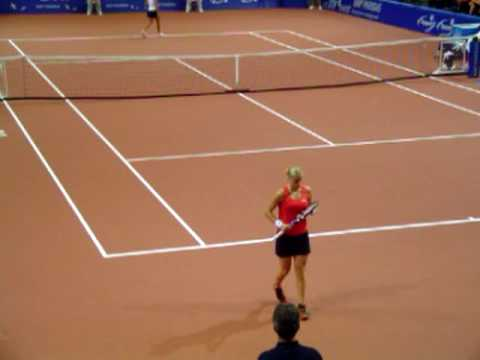 Kim Clijsters vs Vania King @ Fed Cup 2006 Video