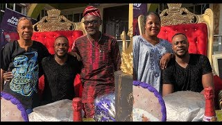 See Gigantic Gift Odunlade Adekola Got On His Birthday As He Celebrate It With His Wife & Family