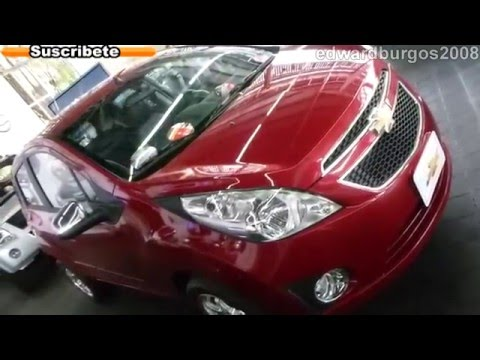 chevrolet spark gt 2013 colombia video auto show medellin 2012 FULL HD