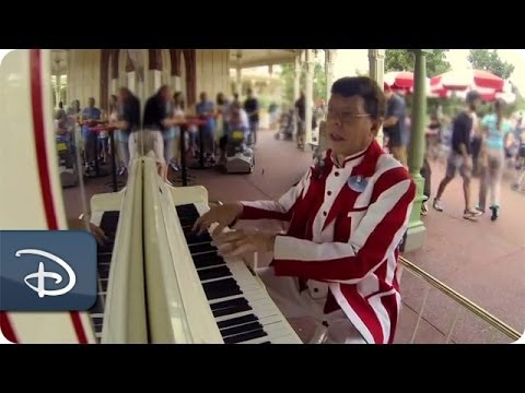 Casey's Corner Piano Player Marks 30 Years Playing for Guests | Walt Disney World | Disney Parks