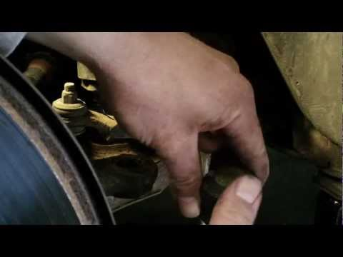Nissan inner tie rod end replacement