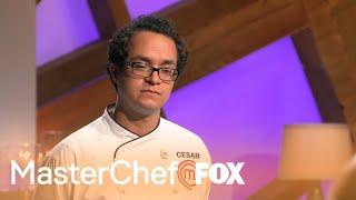 Cesar Is Confident In His Appetizer   Season 9 Ep. 23   MASTERCHEF