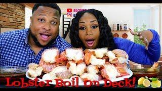 Lobster Seafood Boil, 15 Lobster Tail Feast