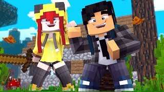 Minecraft Infinito #02 ENCONTREI A VILA DOS YOUTUBERS!!