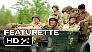 The Monuments Men Featurette - George Clooney's Company (2014) - George Clooney Movie HD